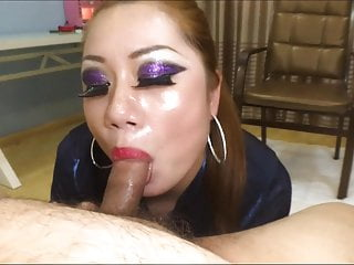 Asian mom POV BJ