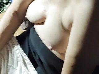 Oil Massaging A Fair Chinese Chubby Granny