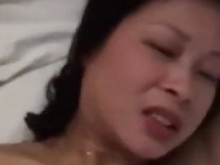 Horny Chinese Wife Cheating on Her Hubby with his Co-Worker