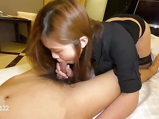 Horny Asian Escort can't stop fucking