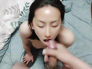 Chinese Girl gives BlowJob