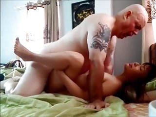 Chinese Cheating Wife Gets Cum
