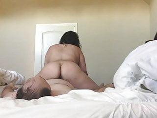 Chubby Asian Wife Fucking Sucking Squirting TITS ASS